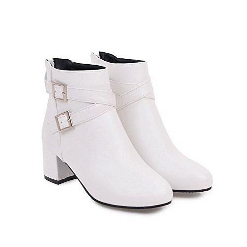 Blanc Abl09937 Compensées BalaMasa Sandales femme 7IOP1q
