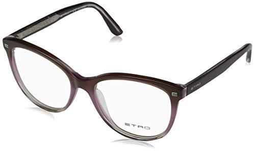 Etro Damen ET2602 502 52 Brillengestelle, Gradient Mauve