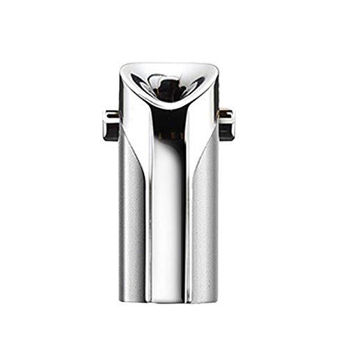 REFURBISHHOUSE Tragbarer Tragbarer Luft Reiniger Ionen Generator Negativ Ion Abstauben USB Reiniger Silber
