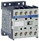 Contactor, 6 A, DIN Rail, 600 VAC, 3PST-NO, 3 Pole, 3 kW