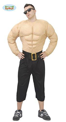 Muskelmann - Kostüm für Männer Gr. M/L, (Kostüm Muskel Mann Lustige)