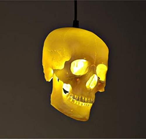 DEED Einfache Moderne persönlichkeit lampen, Retro kronleuchter 1 Lampe kreative Halloween schädel pendelleuchte kreative leuchten bühne dekorative Lichter