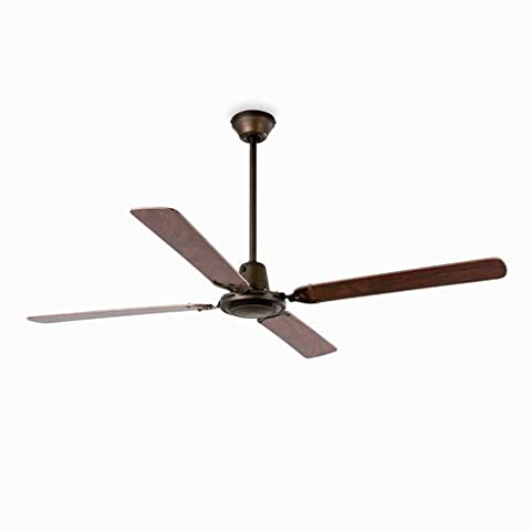 66.5cm Malvinas 4-Blade Ceiling Fan with Wall Remote (Wall Control Compatible, Reversible Blades & Motor) (Mahogany