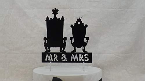 Queen Chairs Enthält den Ausdruck Herr und Frau, kann Aber Ihren Satz oder Namen Thrones Ceremonial Chairs enthalten ()