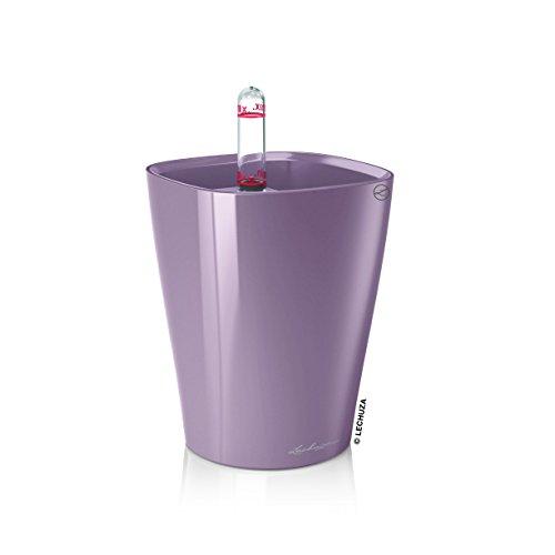 lechuza-premium-deltini-mini-pot-avec-bac-et-systeme-darrosage-finition-brillante-mini-deltini-viole