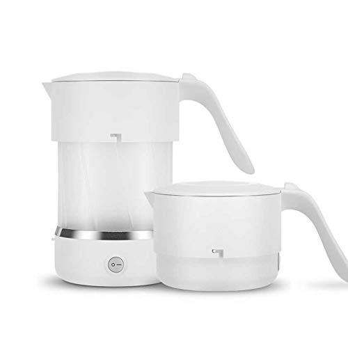 Wenhui 500ML Faltbarer Reise-Wasserkocher-Nahrungsmittelgrad-Silikon zusammenklappbarer tragbarer Wasserkocher, einfache u. Bequeme Lagerung - 110-240V