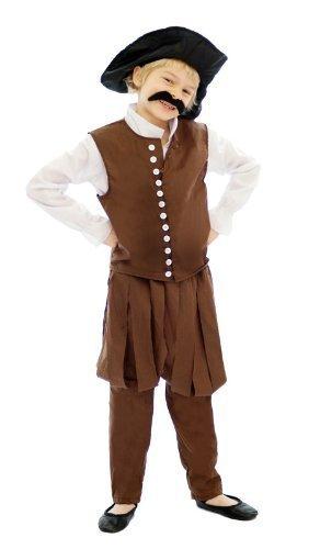 New World explorer Kinder-kostüm : groß 10 - 12 jahre