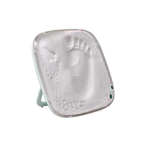 Baby Art One Step Geschenkbox zur Geburt oder Taufe, Hello Baby Treasure mit Hand oder Fußabdruck zum aufstellen oder aufhängen, transparent