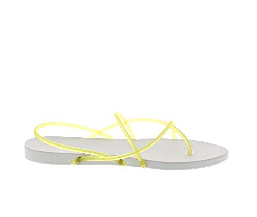 IPANEMA - PHILIPPE STARCK Thong G 81600 - white yellow Weiß (White/Yellow 22339) kmomZ9q5bO