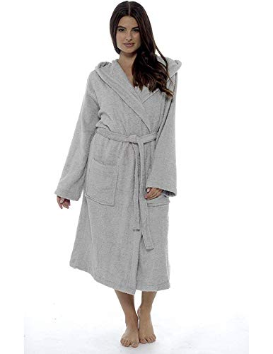 CityComfort Señoras Robe Luxury Terry Toweling