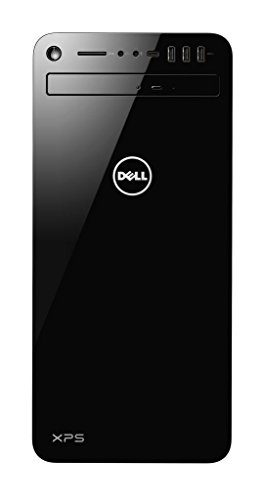 Dell XPS 8930  Desktop (Intel Core i7-8700 6-Core , 2TB HDD + 256GB 4xSSD, NVIDIA GeForce GTX 1060 with 6GB GDDR5 Graphics Memory, DVD RW, Win 10 Home 64bit German) schwarz