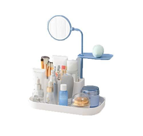 HSGZIS Make-up Veranstalter Tablett Kosmetik Vitrine Kosmetik Make-up Spiegel Reisen Kompakte Tasche Schminkspiegel