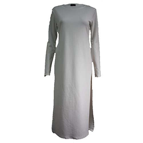 Comfiestyle - Robe - Maxi - Manches Longues - Femme Gris