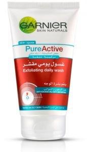 Garnier Pure Active Exfoliating Daily Wash 150ml by Garnier