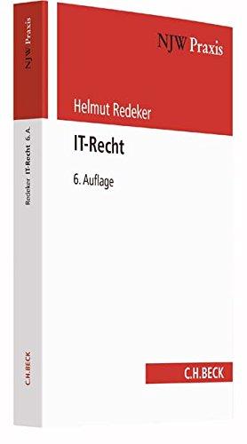 IT-Recht (NJW-Praxis, Band 55) - Software Recht