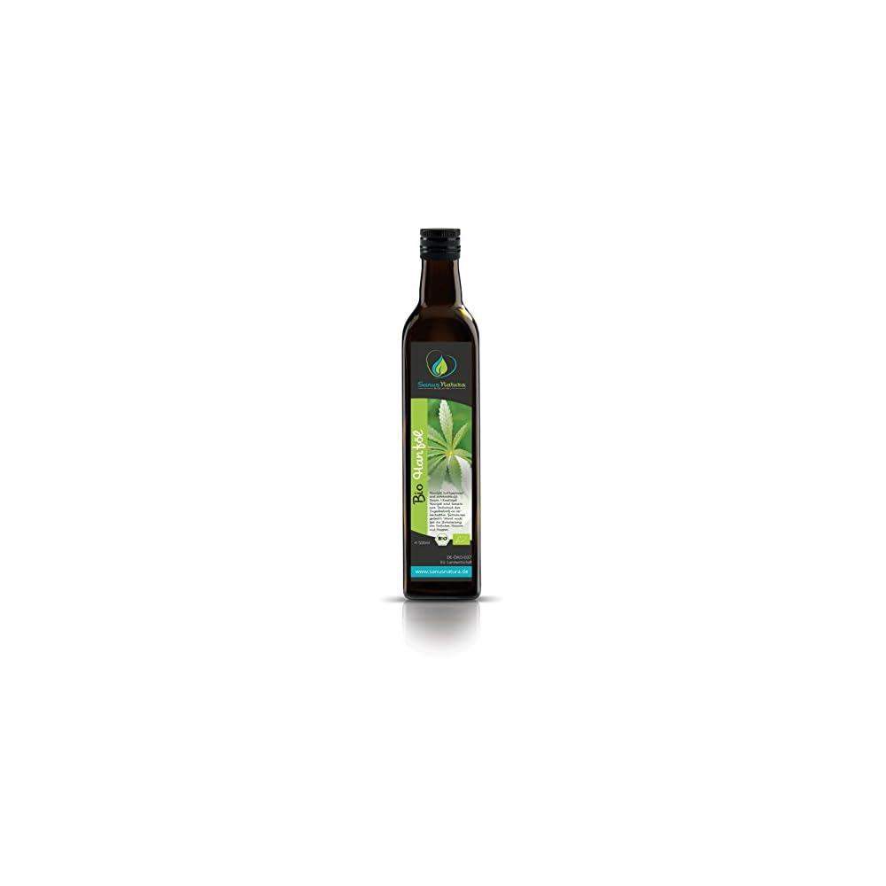 Sanus Natura Bio Hanfl 500ml Glasflasche