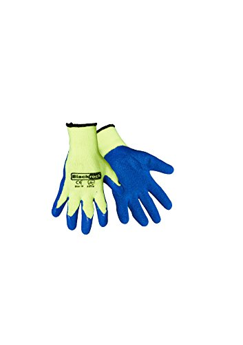 blackrock-mens-thermal-gripper-gloves-blue-yellow