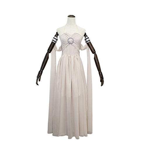nerys Targaryen Cosplay Grau Langes Kleid, Game of Thrones Kostüm,L ()