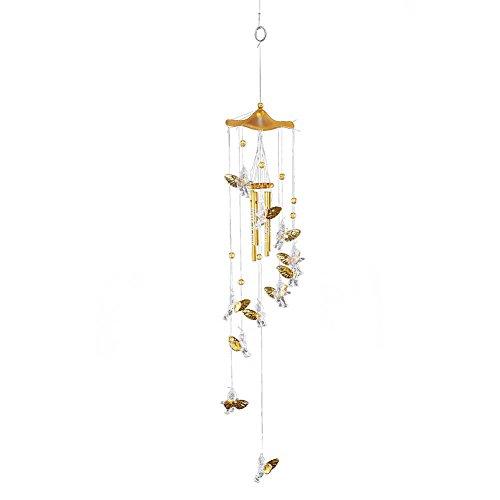 seawang Engel Amor Creative Bell Wind Chimes Home Yard Garten Aufhängen Decor -