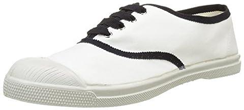 Grosse Chaussure - Bensimon Tennis Lacet Gros Grain, Baskets Basses