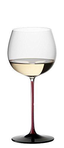 Riedel Sommeliers Black Series Bordeaux Grand Cru Glas, Rot/Schwarz Montrachet Single farblos (Riedel Wein Gläser Bordeaux)