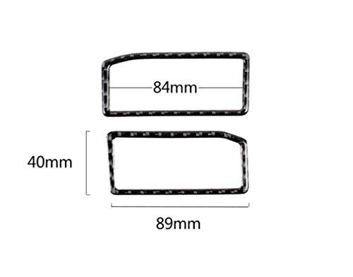 Konvertierung Outlet (Carbon Instrument Auslassöffnungen Autodekoration Teile Rahmenabdeckung Trim Aufkleber für Lexus IS250 Konvertierung Zubehör)