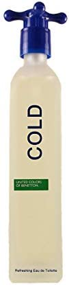 Benetton Cold Eau De Toilette For Men, 100 ml