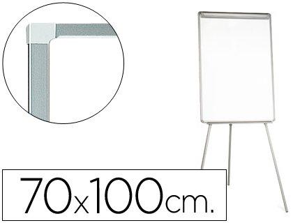 Q-Connect Pizarra Blanca Con Trípode 70X100 Cm Para