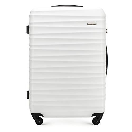 WITTCHEN GROOVE Line Koffer, 77 cm, Weiß