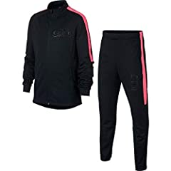 Idea Regalo - Nike Tuta CR7 Junior Nero 18/19 13/15 Anni - Age Nero