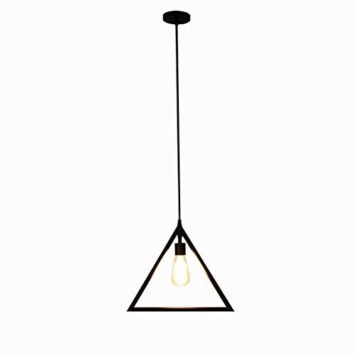 GZQ Deckenleuchte Anhänger Light Flush Mount Retro Metall Deckenleuchte Lampe Dekoration für Flur, Arbeitszimmer, Büro, Esszimmer, Schlafzimmer, Wohnzimmer, Kaffee, Bar, Restaurant Triangle
