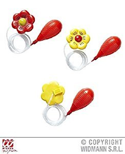 SQUIRTING FLOWER - yellow red