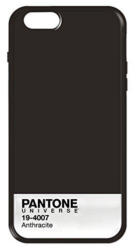 Case Scenario Pantone Universe IMD Schutzhülle Case Cover mit TPU Bumper für iPhone 6/6S -  Fiesta Anthracite
