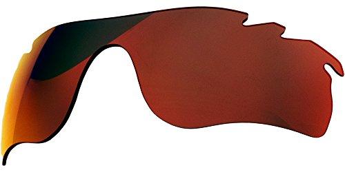Ersatz-Objektive für Oakley Radarlock Path Sonnenbrille, Red Mirror Polarized Vented