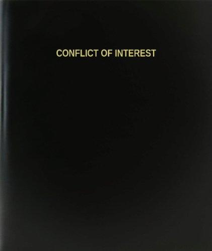 """BookFactory® conflicto de interés libro de registro/diario/diario página–120, 8,5""""x11,"""" negro Hardbound (xlog-120–7cs-a-l-black (conflicto de interés libro de registro))"""