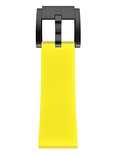 TW Steel Marc Coblen Armband Uhrenband Silikon 22 MM gelb SB_Y_B