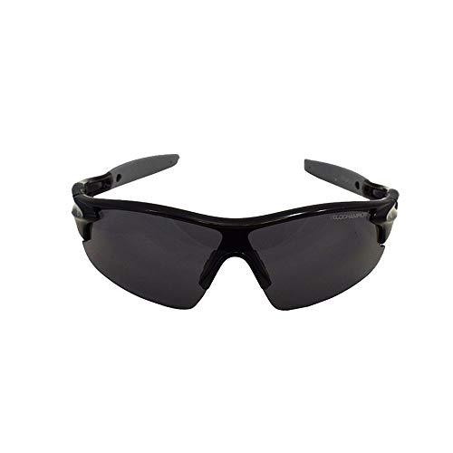 VeloChampion Kids Unisex Sommer Junge Mädchen Junior Sports WARP Radsport Fashion Cool Sonnenbrillen Sonnenbrillen UV400 UVA UVB Kategorie 3 Schutz (Black)