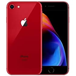 "Apple iPhone 8 4.7"" Single SIM 4G 64GB Red - Smartphones (11.9 cm (4.7""), 1334 x 750 pixels, 64 GB, 12 MP, iOS 11, Red)"