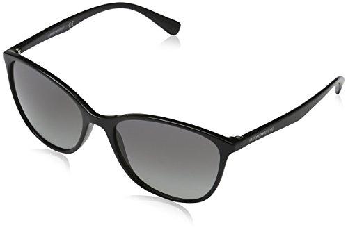 Emporio Armani Unisex 501711 Sonnenbrille, Schwarz (Black), Large (Herstellergröße: 56)
