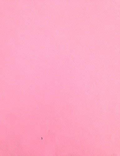 KEVKUS Wachstuch Tischdecke Meterware unifarben rosa pink uni 210 Größe wählbar in eckig rund oval (110x260 cm eckig (Biertisch XXL))