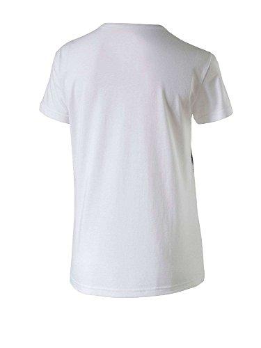 Puma Tee T-Shirt con icona Afro Girl. Puma White