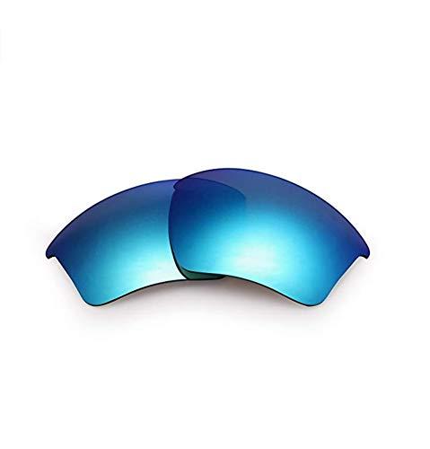 Polarisierte Ersatzgläser für Oakley OO9154 Half Jacket 2.0 (Blue)