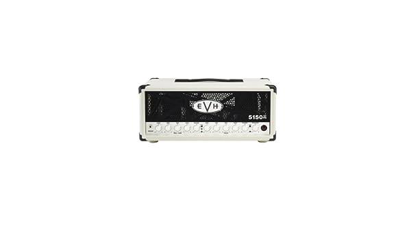 4e31b872291 EVH 5150 III 50-Watt Tube Head - Ivory  Amazon.co.uk  Musical Instruments