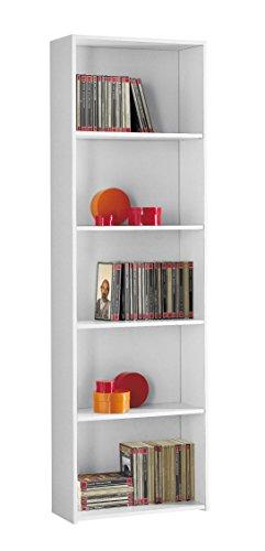 Mobile libreria a giorno cm L55 - Colore Bianco