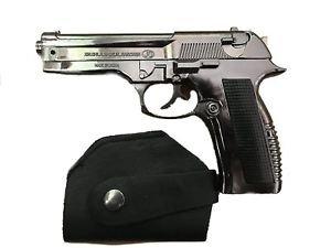 Boom Shankara/Star Magic Metal Gun Lighter with Barrel Pull Back System (Silver)