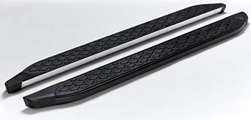 Pedane Dacia Sandero Stepway dal 2009 modello Hitit in nero