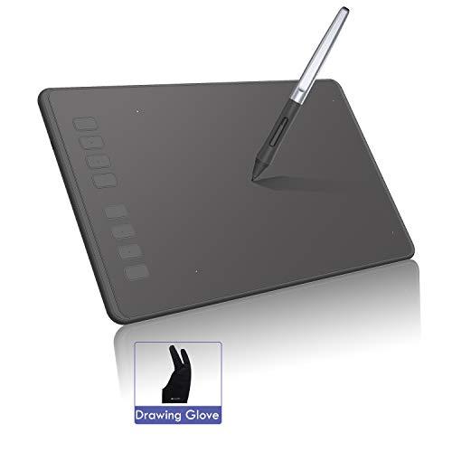 HUION INSPIROY H950P Grafiktablett Tablet 8192 Stufen mit der Kippfunktion, 8 Expresstasten