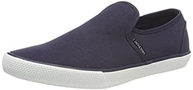 JACK & JONES Herren Jfwseb Navy Blazer Slip on Sneaker, Blau (Navy Blazer Navy Blazer), 46 EU