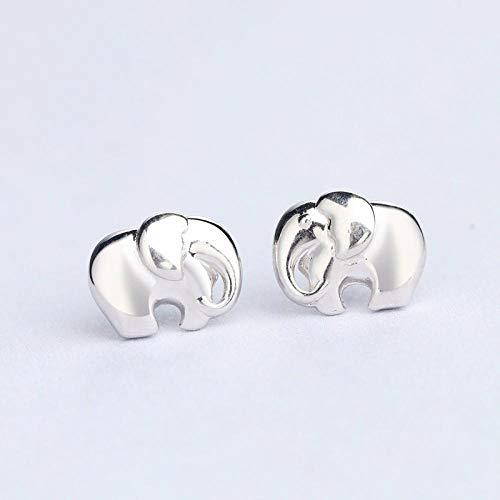 Joyas Pendientes De Plata De Ley 925 Pendientes De Elefantes Exquisitos De...