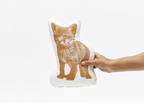 Areaware Pico Pillow Fox Kissen, Stoff, mehrfarbig - 2